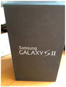 Samsung Galaxy S II box